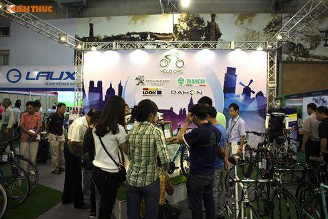 Xe dap 'len ngoi' tai Trien lam Vietnam Cycle 2016 - Anh 5