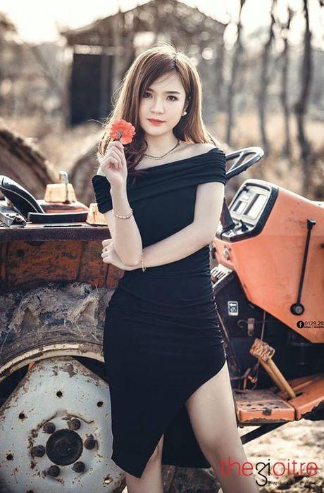 9X Hai Duong xinh dep noi tieng tren mang xa hoi - Anh 5