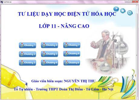 Su dung tu lieu day hoc dien tu nang cao chat luong day Hoa hoc - Anh 1