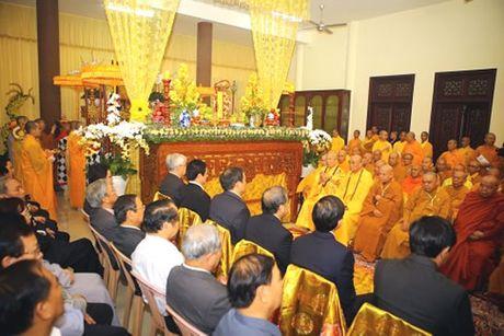 Le tuong niem va phung tong linh quan Hoa thuong Thich Chon Thien - Anh 1