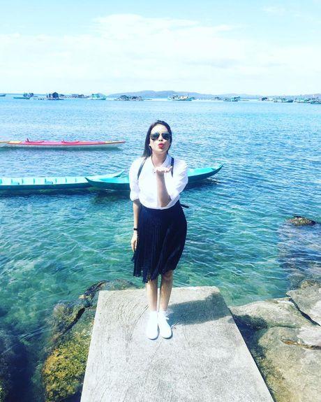 Pham Huong xinh dep bat ngo tai dao Phu Quoc - Anh 4