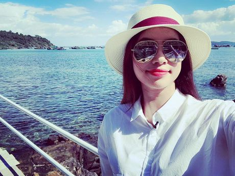 Pham Huong xinh dep bat ngo tai dao Phu Quoc - Anh 6