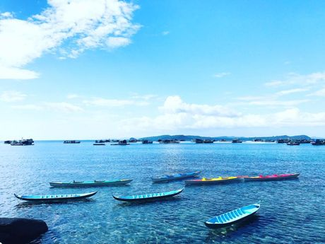 Pham Huong xinh dep bat ngo tai dao Phu Quoc - Anh 7