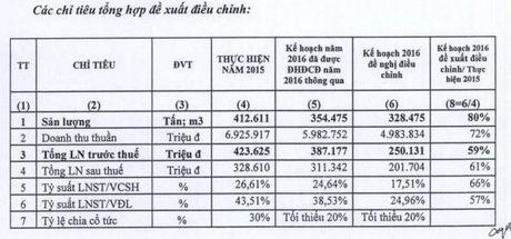 PLC dieu chinh giam 35% ke hoach loi nhuan nam 2016 do mang nhua duong gap kho khan - Anh 1