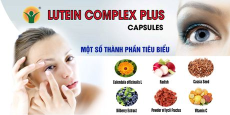 Lutein Complex Plus – duong chat ngan ngua thoai hoa diem vang, duc thuy tinh the - Anh 3