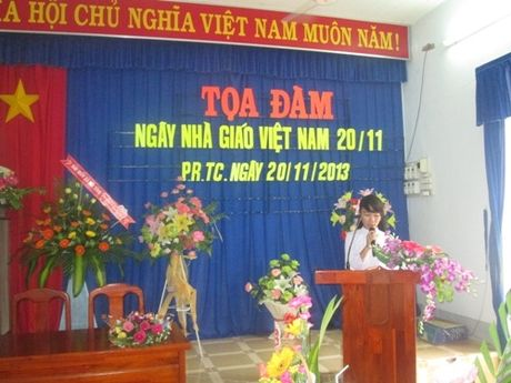 Bai phat bieu cua hoc sinh hay va y nghia nhat ngay 20/11 - Anh 1