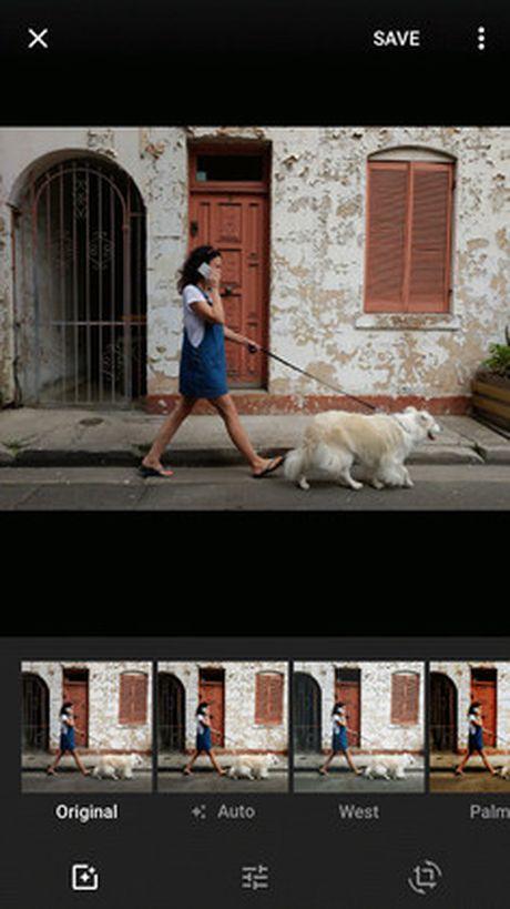 Google Photos cho phep cap nhat cong cu bien tap anh moi - Anh 1