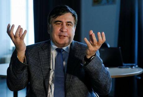 Saakashvili: Tong thong Ukraine dung tung nan tham nhung - Anh 1