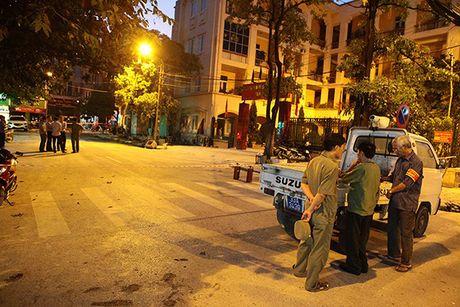 Nguyen nhan no tram dien o Ha Dong: May bien ap tran dau khi chay thu - Anh 1