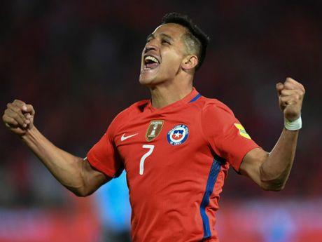 """Arsenal dau MU: Sanchez tran an Wenger, Walcott lo """"ho de"""" - Anh 1"""
