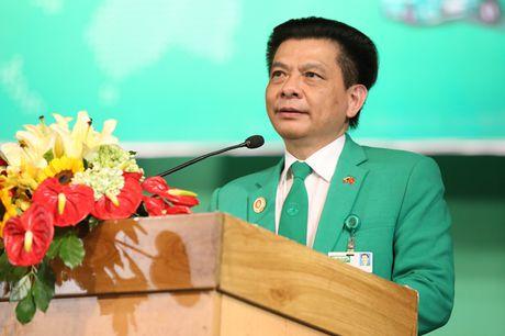 Chu tich tap doan Mai Linh - Doanh nhan Ho Huy: Van luon nang mot chu Tinh - Anh 1