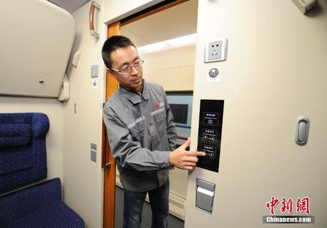 Trung Quoc gioi thieu tau cao toc co giuong gap va wifi - Anh 5