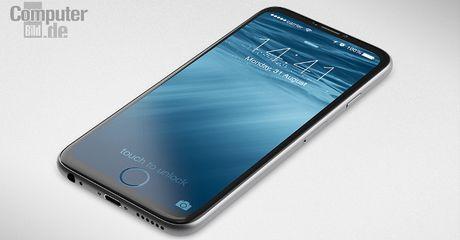 iPhone 8 se so huu man hinh khong duong vien cuc 'khung'? - Anh 1