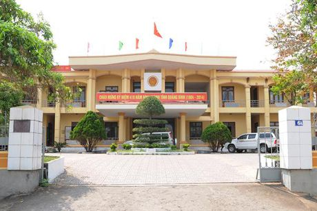 Quang Ninh, Quang Binh: Tam dinh chi cong tac Pho phong NN va PTNT xuc pham dan - Anh 1