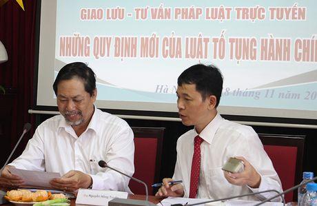Giao luu toa dam truc tuyen Luat To tung Hanh chinh - Anh 23