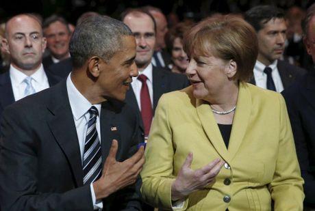 Ong Obama va ba Merkel: Moi tham tinh hiem co - Anh 15