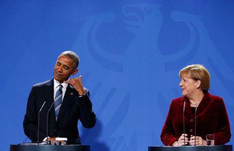 Ong Obama va ba Merkel: Moi tham tinh hiem co - Anh 2