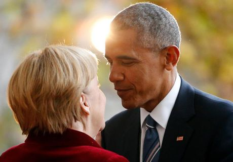 Ong Obama va ba Merkel: Moi tham tinh hiem co - Anh 3