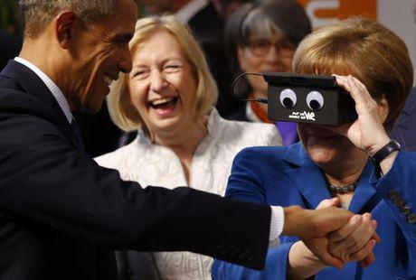 Ong Obama va ba Merkel: Moi tham tinh hiem co - Anh 5