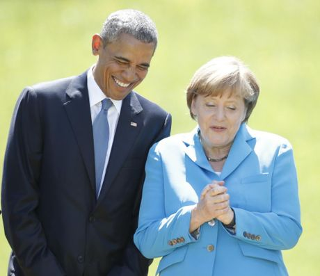 Ong Obama va ba Merkel: Moi tham tinh hiem co - Anh 6