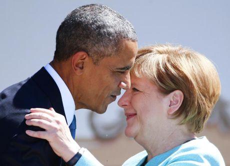 Ong Obama va ba Merkel: Moi tham tinh hiem co - Anh 9