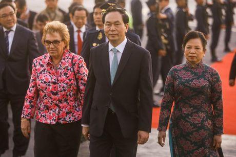 Chu tich nuoc Tran Dai Quang sap hoi dam voi Tong thong Nga Putin - Anh 1