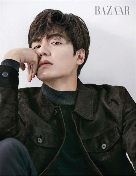 Lee Min Ho noi ve Jun Ji Hyun va 'The Legend of the Blue Sea' tren tap chi Bazaar - Anh 3