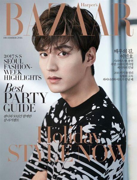 Lee Min Ho noi ve Jun Ji Hyun va 'The Legend of the Blue Sea' tren tap chi Bazaar - Anh 4