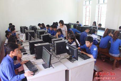 Truong THPT Phan Dang Luu: Tu hao 'noi' chap canh nhung tai nang - Anh 3