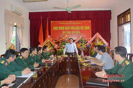 Bi thu Thanh uy Vinh chuc mung ngay Nha giao Viet Nam - Anh 1