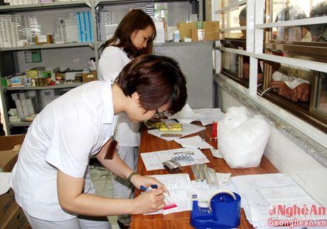 Khoa Duoc gop phan nang cao chat luong chua benh tai Benh vien Giao thong - Van tai Vinh - Anh 2
