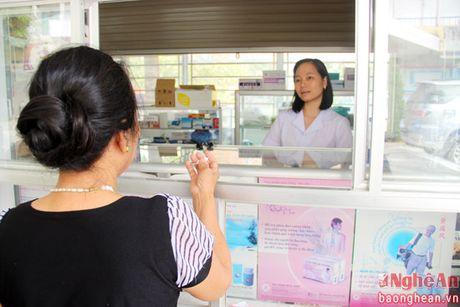 Khoa Duoc gop phan nang cao chat luong chua benh tai Benh vien Giao thong - Van tai Vinh - Anh 6