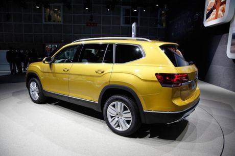 SUV 7 cho Volkswagen Atlas, doi thu canh tranh Ford Explorer - Anh 3