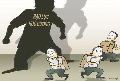 Dai bieu Quoc hoi len tieng tinh trang 'Bao luc hoc duong' - Anh 1