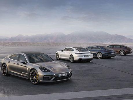 Porsche Panamera Executive dep 'nhu mo' vua ra mat - Anh 1