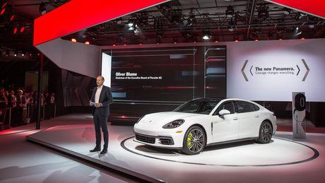 Porsche Panamera Executive dep 'nhu mo' vua ra mat - Anh 2