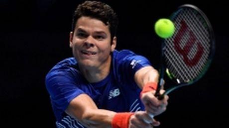 Raonic noi got Djokovic vao ban ket Tour Finals - Anh 1