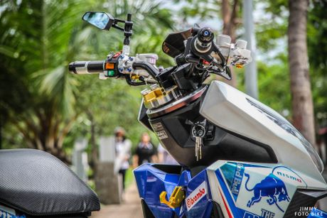 Honda Click Thai len do choi tri gia ca tram trieu dong - Anh 12