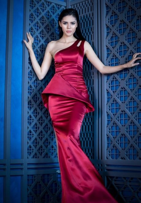 Lilly Nguyen do dang voi A hau Kim Nguyen trong thiet ke cua Vincent Doan - Anh 6