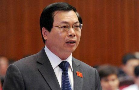 Quoc hoi phe phan nghiem khac nguyen Bo truong Vu Huy Hoang - Anh 1