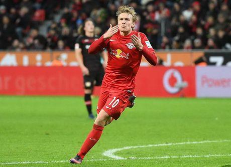 Nguoc dong ha Leverkusen, RB Leipzig chiem ngoi dau cua Bayern - Anh 1