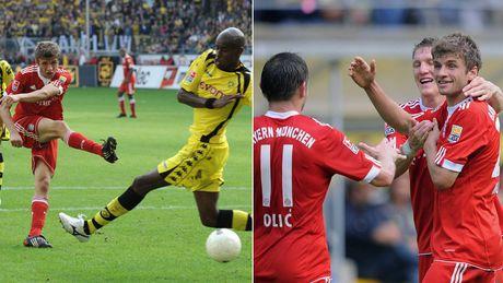 Nhin lai nhung tran cau 'kinh dien' Dortmund - Bayern Munich - Anh 14