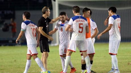 Video xem truc tiep AFF Cup 2016: Philippines - Singapore - Anh 1
