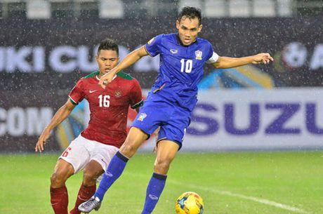 Clip Dangda lap hat-trick, Thai Lan 'quat nga' Indonesia - Anh 1