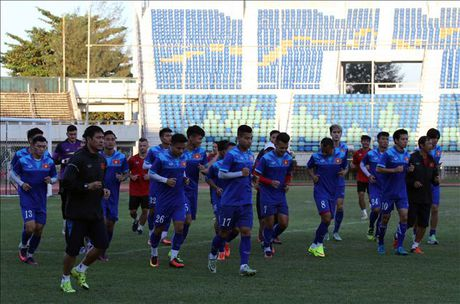 HLV Huu Thang loai Tuan Anh va Quang Huy khoi danh du AFF Cup 2016 - Anh 1