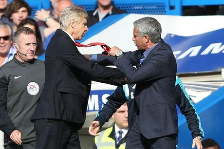 Arsene Wenger hoi tiec vi nhung cu xu khong dung muc voi Jose Mourinho - Anh 1