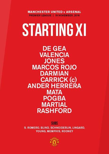 TRUC TIEP Man Utd vs Arsenal: Rooney, Xhaka du bi (Cap nhat doi hinh) - Anh 1