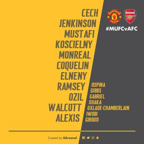 TRUC TIEP Man Utd vs Arsenal: Rooney, Xhaka du bi (Cap nhat doi hinh) - Anh 2