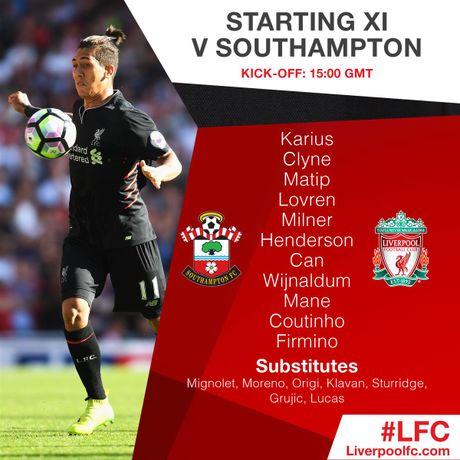 Cap nhat ti so: Southampton 0-0 Liverpool - Anh 1