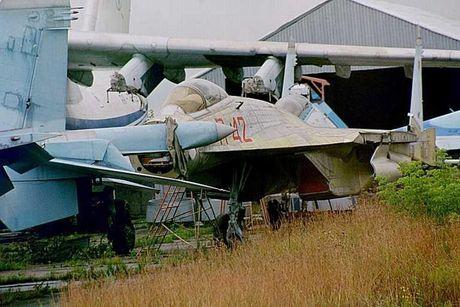 Giai ma chiec tiem kich P-42 day bi an, giong het Su-27 - Anh 1